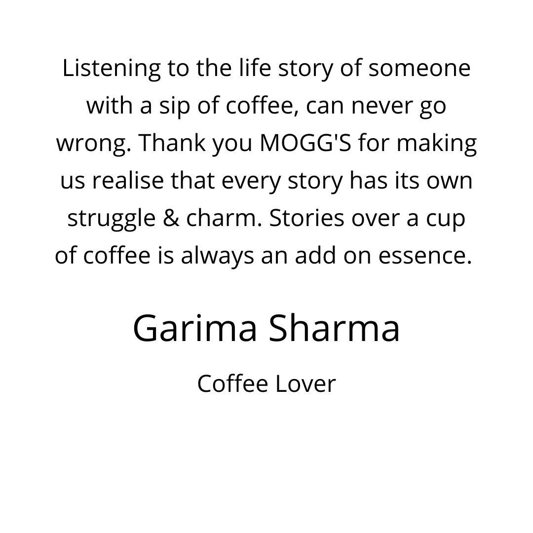moggs coffee conversation testimonials